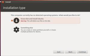 Ubuntu-Installation-type