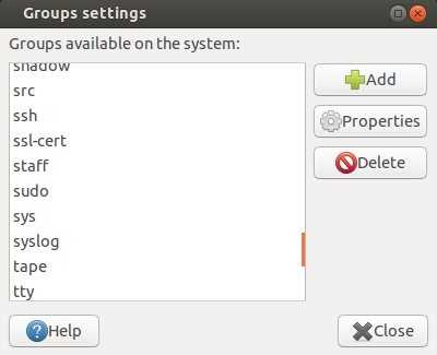 Group-settings