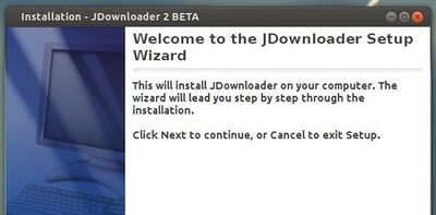 Jdownload 2 setup wizard