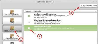 enable getdeb repository