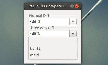 nautilus file compare extension