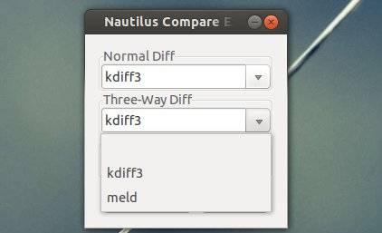 nautilus file compare extension