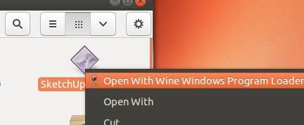 Open Windows EXE file with Wine
