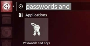passwords and keys