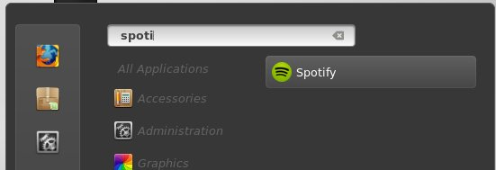 spotify in linuxmint