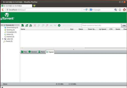 utorrent client in firefox