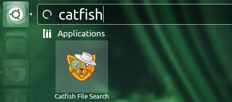 catfish file search ubuntu unity