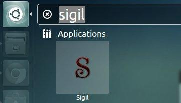 sigil epub editor for ubunt unity
