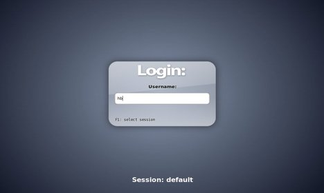 slim login manager
