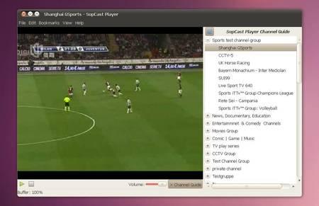 sopcast p2p live tv