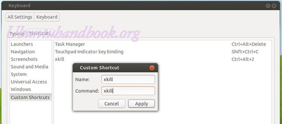 Add xkill shortcut