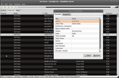 deadbeef player ubuntu 13.10