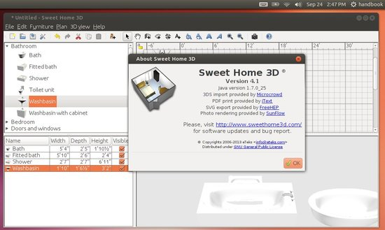 sweet home 3d ubuntu 13.10