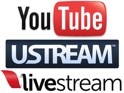 youtube ustream livestream