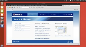 NetBeans IDE 7.4 on Ubuntu 13.10