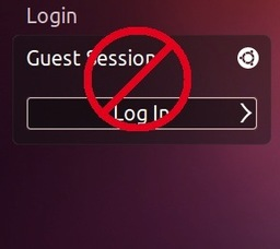 disable guest ubuntu 14.04