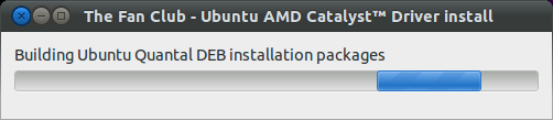 Build Ubuntu DEB packages for AMD Catalyst driver