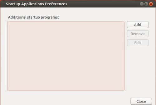 no apps startup applications utility in ubuntu 13.10