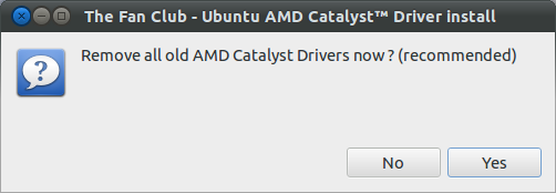 Remove old AMD driver