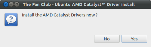 install AMD driver