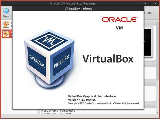 virtualbox 4.3.2 in ubuntu 13.10
