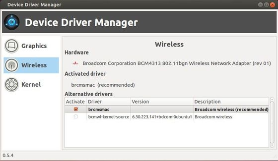 Install Linux Mint Device Driver Manager in Ubuntu