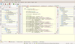 Codimension IDE common view