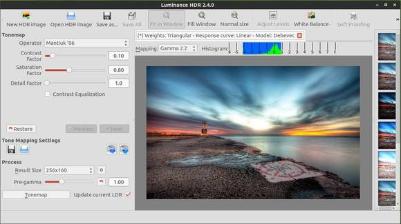 luminance hdr 2.4 Ubuntu