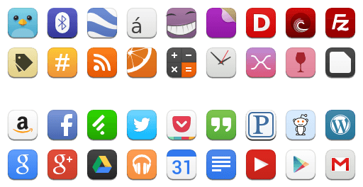 Moka apps icons