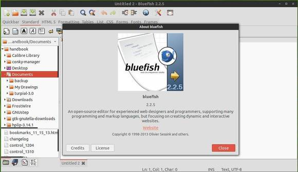 Install Bluefish Ubuntu