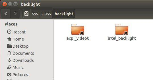 Find Out Actual Backlight Settings Folder