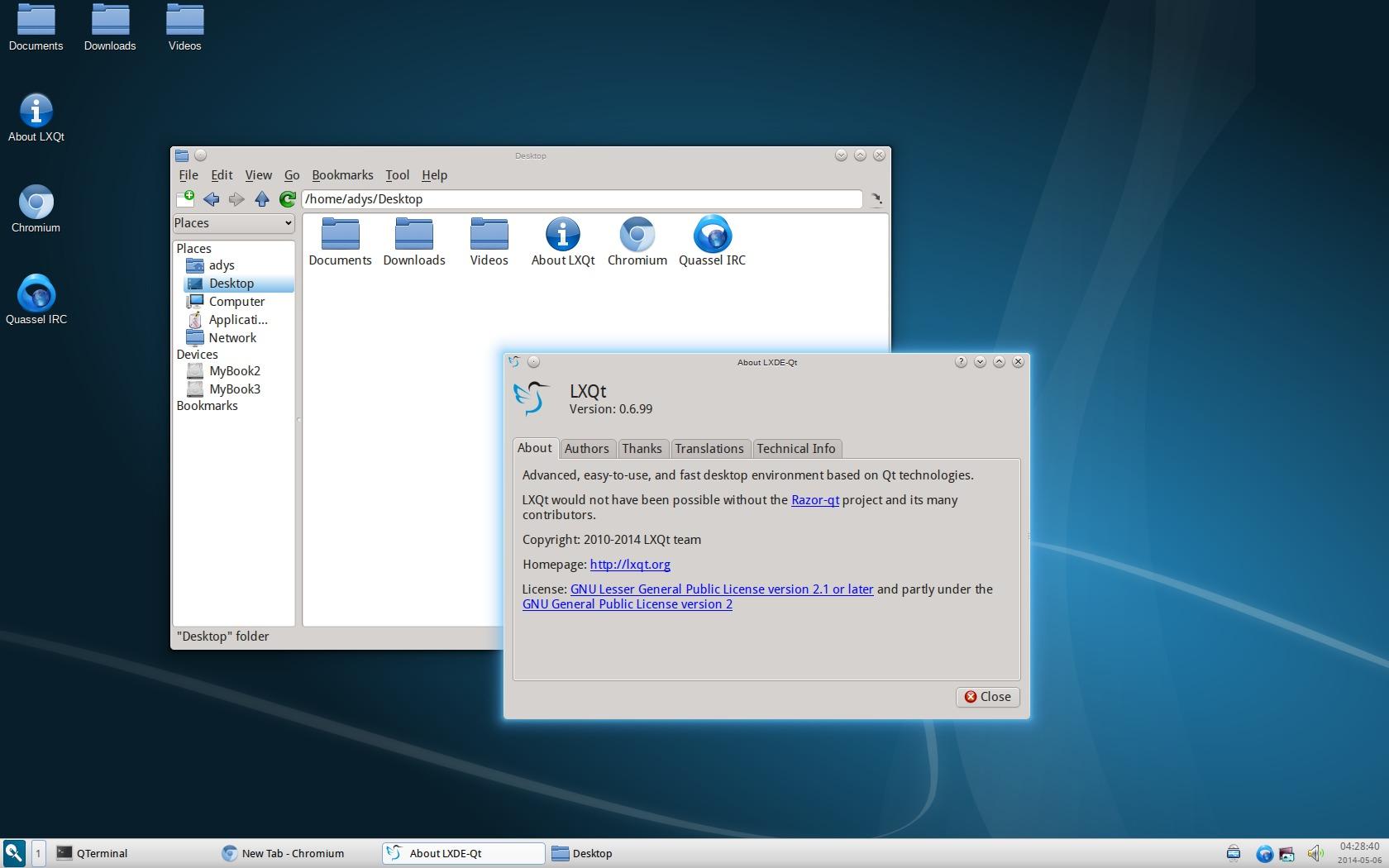 LXQt 0 7 0 (LXDE & Razor-Qt) Released, Install it in Ubuntu