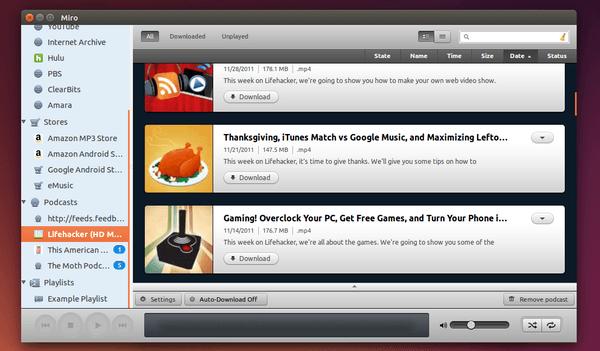 Miro 6 in Ubuntu 14.04