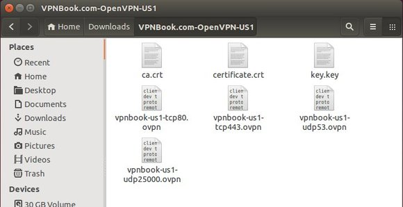 openvpn key files