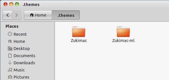 put to themes folder