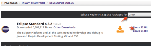 Download Eclipse for Linux