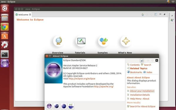 How to Install The Latest Eclipse Release in Ubuntu 14 04