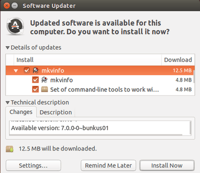 upgrade mkvtoolnix in Ubuntu