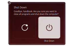 Disable shutdown log out dialog box