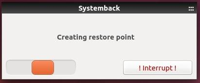 create restore point ubuntu