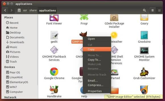 Create Desktop Shortcuts Ubuntu