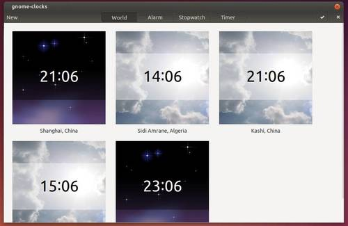 Gnome Clock with CSD disabled