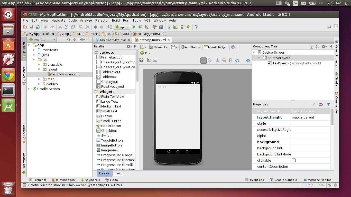 How to Install Android Studio in Ubuntu 14 04/14 10/12 04