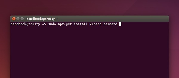 Install Telnet Server in Ubuntu