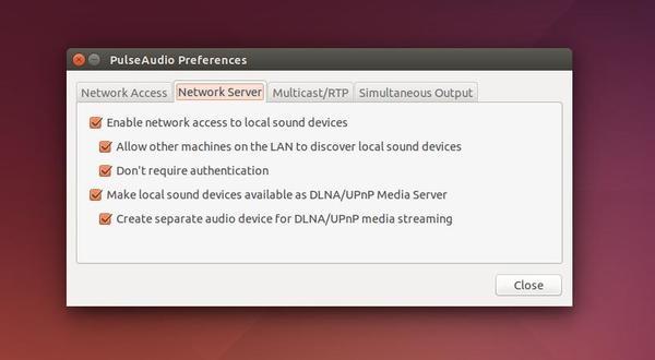 Setup DLNA/UPnP server