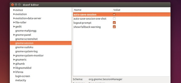 Automatically save current session