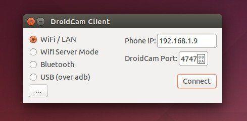 DroidCam in Ubuntu