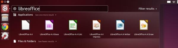 Start LibreOffice 4.4