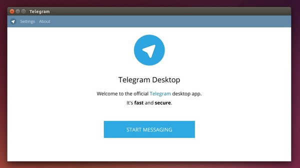 Telegram client in Ubuntu