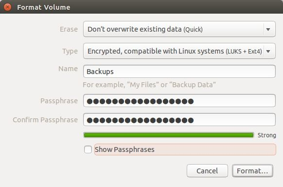 How to Encrypted Your USB Stick For Ubuntu Linux